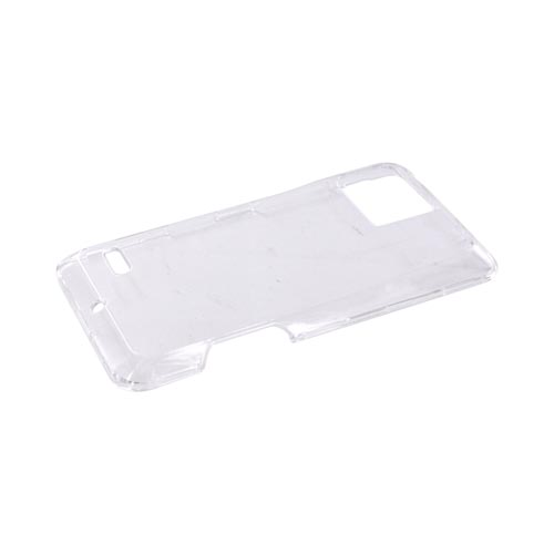 Motorola Droid Bionic XT865 Hard Case - Transparent Clear
