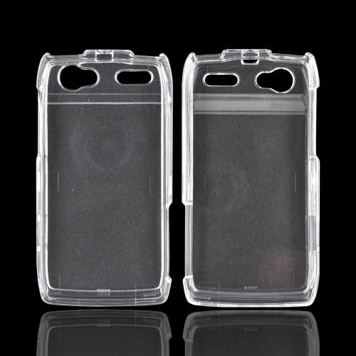 Motorola XT881 Hard Case - Transparent Clear