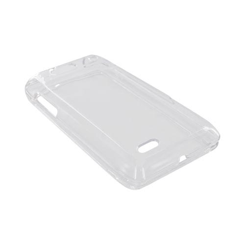 Motorola Droid 4 Hard Case - Transparent Clear