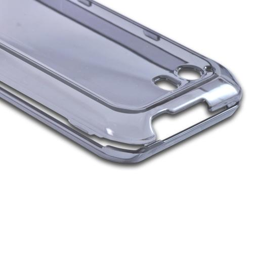 Transparent Smoke Hard Case for Motorola Photon Q 4G LTE