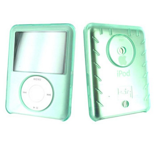 Apple iPod Nano Video Protective Hard Case - Green