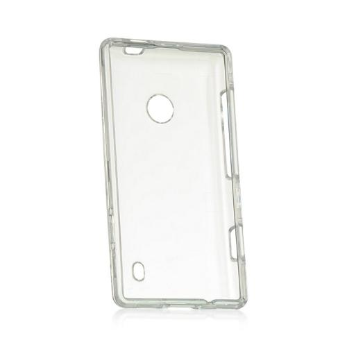 Clear Hard Case for Nokia Lumia 521