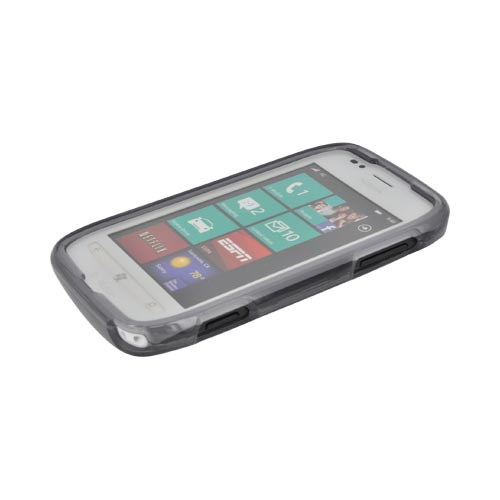 Nokia Lumia 710 Hard Case - Transparent Smoke