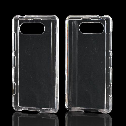 Transparent Clear Hard Case for Nokia Lumia 820