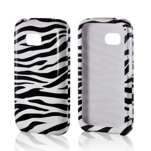 White/ Black Zebra Hard Case for Nokia Lumia 822