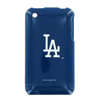 MLB Licensed Apple iPhone 3g Hard Case - Los Angeles Dodgers