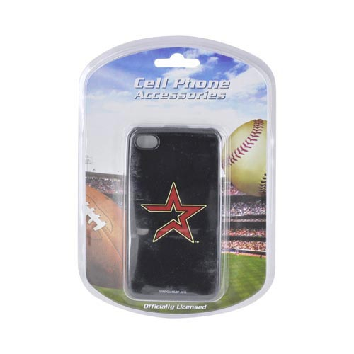 MLB AT&T/ Verizon Apple iPhone 4, iPhone 4S Hard Case - Houston Astros