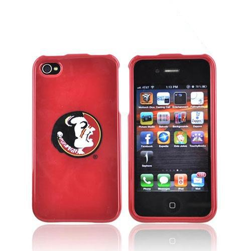 NCAA Licensed Apple Verizon/ AT&T iPhone 4, iPhone 4S Hard Case - Florida State Seminoles