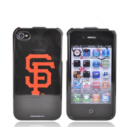 MLB Licensed AT&T/Verizon Apple iPhone 4, iPhone 4S Hard Case - San Francisco Giants