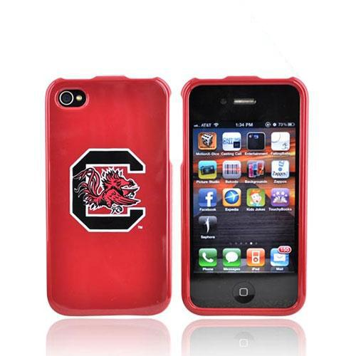 NCAA Licensed Apple Verizon/ AT&T iPhone 4, iPhone 4S Hard Case - South Carolina Gamecocks
