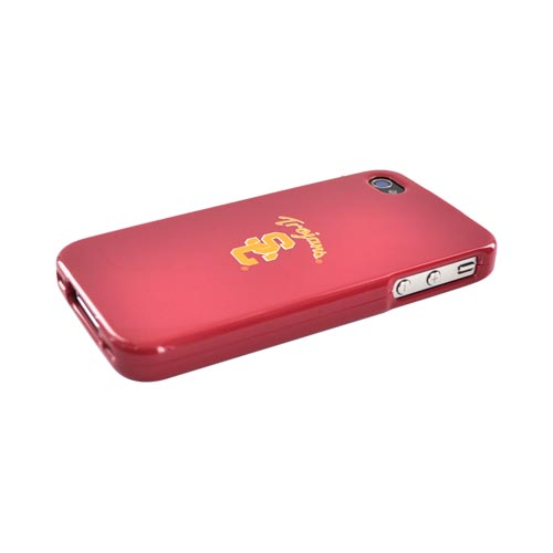 NCAA Licensed Apple Verizon/ AT&T iPhone 4, iPhone 4S Hard Case - Southern California Trojans