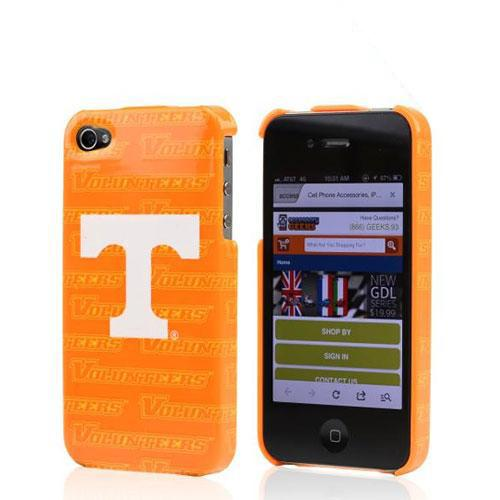 NCAA Licensed Apple Verizon/ AT&T iPhone 4, iPhone 4S Hard Case - Tennessee Volunteers