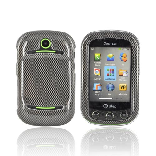 Pantech Pursuit 2 P6010 Hard Case - Carbon Fiber