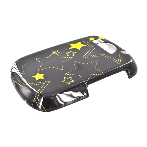 Cricket PCD TXTM8 Hard Case - Yellow Stars on Black