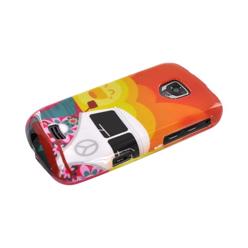 Samsung Droid Charge Hard Case - Hippie Van