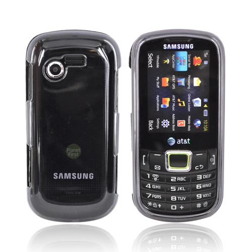Samsung Evergreen A667 Hard Case - Transparent Smoke