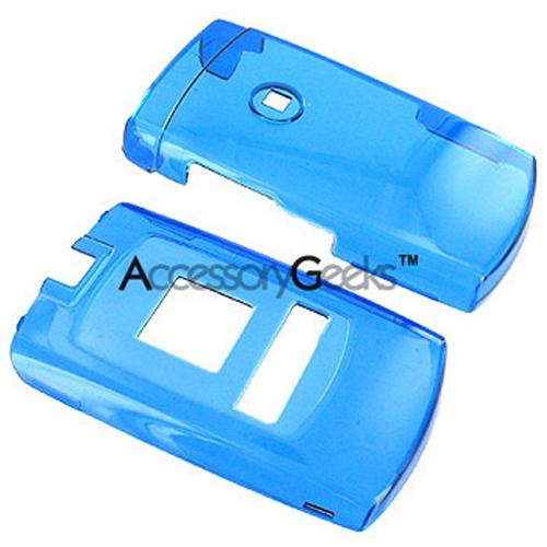 Samsung Sync A707 Protective Hard Case - Transparent Blue