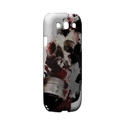 Geeks Designer Line (GDL) Apocalyptic Series Samsung Galaxy S3 Matte Hard Back Cover - The Addict