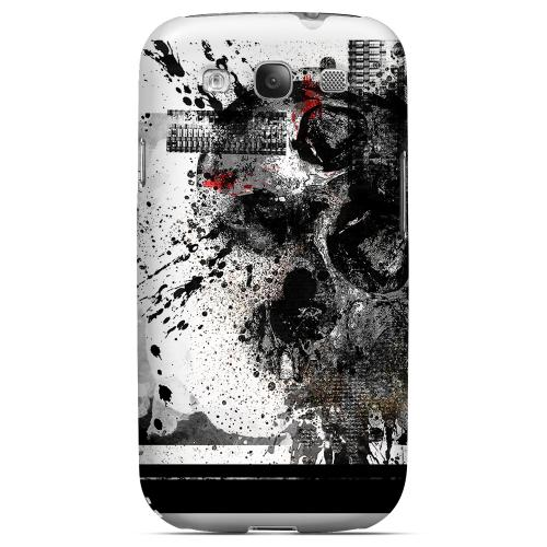 Geeks Designer Line (GDL) Apocalyptic Series Samsung Galaxy S3 Matte Hard Back Cover - Collapse
