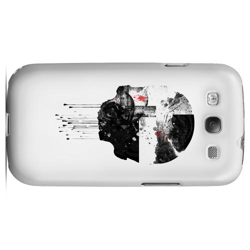 Geeks Designer Line (GDL) Apocalyptic Series Samsung Galaxy S3 Matte Hard Back Cover - Skyfall