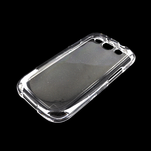 Samsung Galaxy S3 Hard Case - Transparent Clear