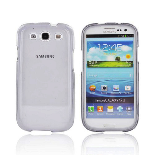 Samsung Galaxy S3 Hard Case - Transparent Smoke
