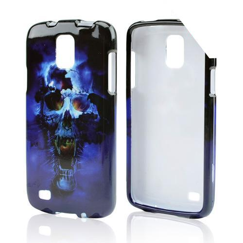 Blue Skull Hard Case for Samsung Galaxy S4 Active
