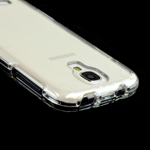 Transparent Clear Hard Case for Samsung Galaxy S4