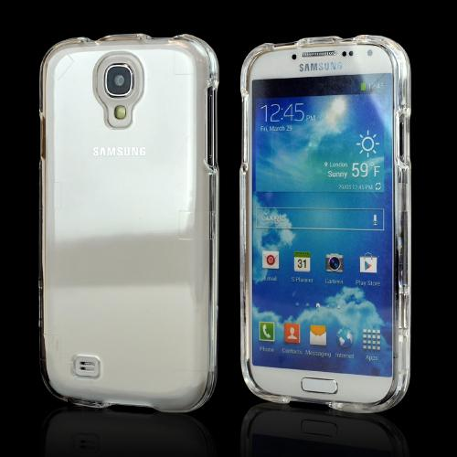 Transparent Clear Hard Back Case for Samsung Galaxy S4