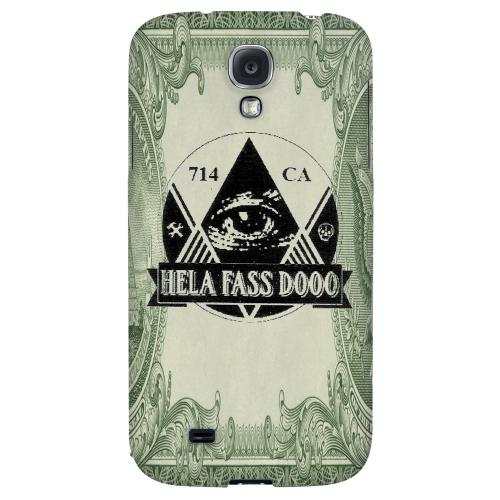 HFD Illuminati Hard Plastic Case for Samsung Galaxy S4