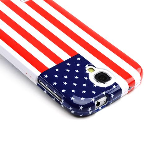 American USA Flag Hard Case for Samsung Galaxy S4
