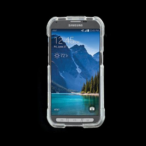 Samsung Galaxy S5 Active Hard Case Cover [Clear]