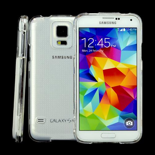 Clear Hard Plastic Case for Samsung Galaxy S5