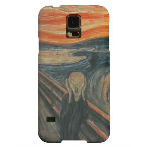 Geeks Designer Line (GDL) Samsung Galaxy S5 Matte Hard Back Cover - Edward Munch The Scream