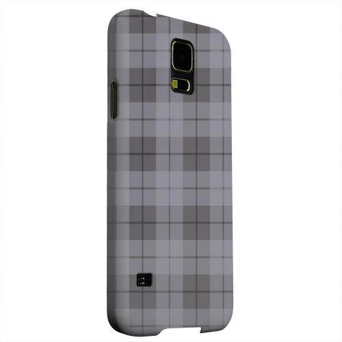 Geeks Designer Line (GDL) Samsung Galaxy S5 Matte Hard Back Cover - Grayish Plaid