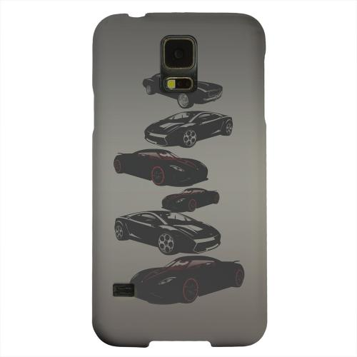Geeks Designer Line (GDL) Samsung Galaxy S5 Matte Hard Back Cover - Sports Cars You Can't Afford
