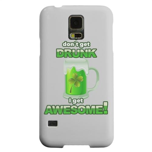 Geeks Designer Line (GDL) Samsung Galaxy S5 Matte Hard Back Cover - I Get Awesome