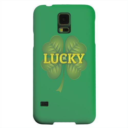 Geeks Designer Line (GDL) Samsung Galaxy S5 Matte Hard Back Cover - Lucky