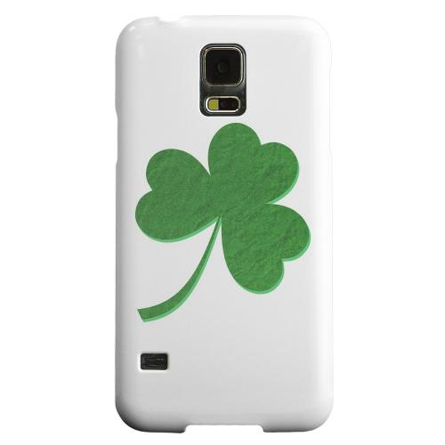 Geeks Designer Line (GDL) Samsung Galaxy S5 Matte Hard Back Cover - Simple Clover