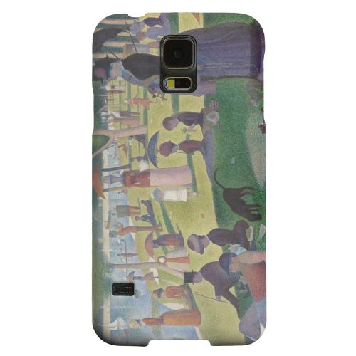 Geeks Designer Line (GDL) Samsung Galaxy S5 Matte Hard Back Cover - Georges Seurat Sunday Afternoon