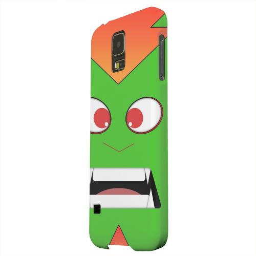 Geeks Designer Line (GDL) Samsung Galaxy S5 Matte Hard Back Cover - Electric Beast