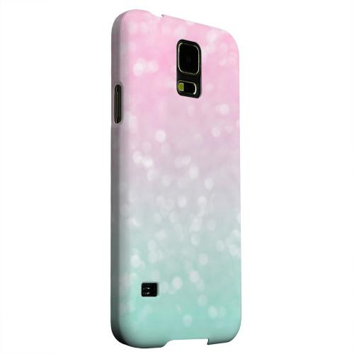 Geeks Designer Line (GDL) Samsung Galaxy S5 Matte Hard Back Cover - Cherry Blossom Scream