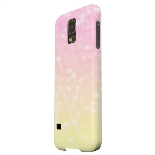 Geeks Designer Line (GDL) Samsung Galaxy S5 Matte Hard Back Cover - Bubble Gum Squeeze