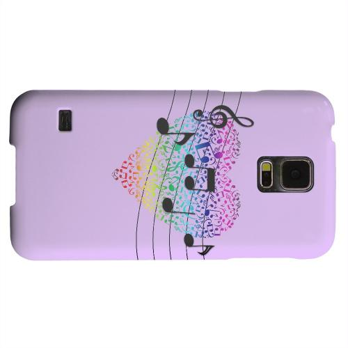 Geeks Designer Line (GDL) Samsung Galaxy S5 Matte Hard Back Cover - Earful of Color