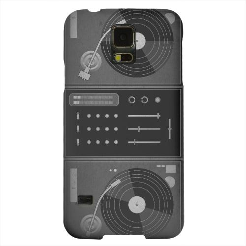 Geeks Designer Line (GDL) Samsung Galaxy S5 Matte Hard Back Cover - Turntabliss