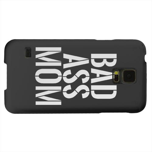 Geeks Designer Line (GDL) Samsung Galaxy S5 Matte Hard Back Cover - Bad Ass Mom