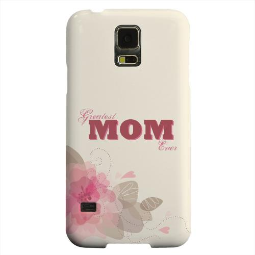 Geeks Designer Line (GDL) Samsung Galaxy S5 Matte Hard Back Cover - Greatest Mom Ever