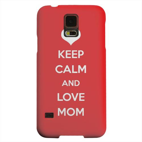 Geeks Designer Line (GDL) Samsung Galaxy S5 Matte Hard Back Cover - Love Mom