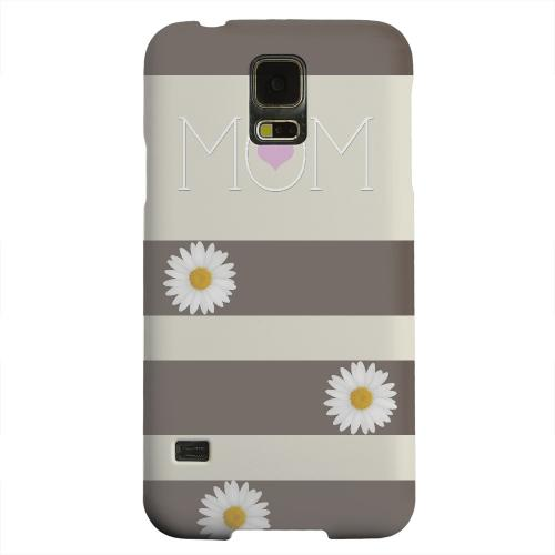 Geeks Designer Line (GDL) Samsung Galaxy S5 Matte Hard Back Cover - Mom Daisy