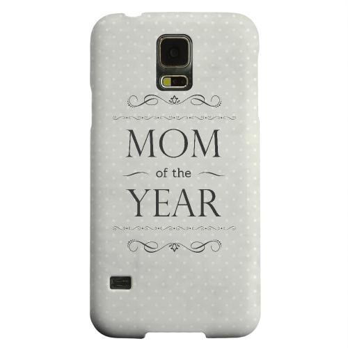 Geeks Designer Line (GDL) Samsung Galaxy S5 Matte Hard Back Cover - Mom of the Year